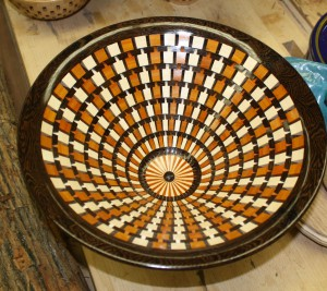 Radial Pattern Segmented Bowl - Dennis Edwards