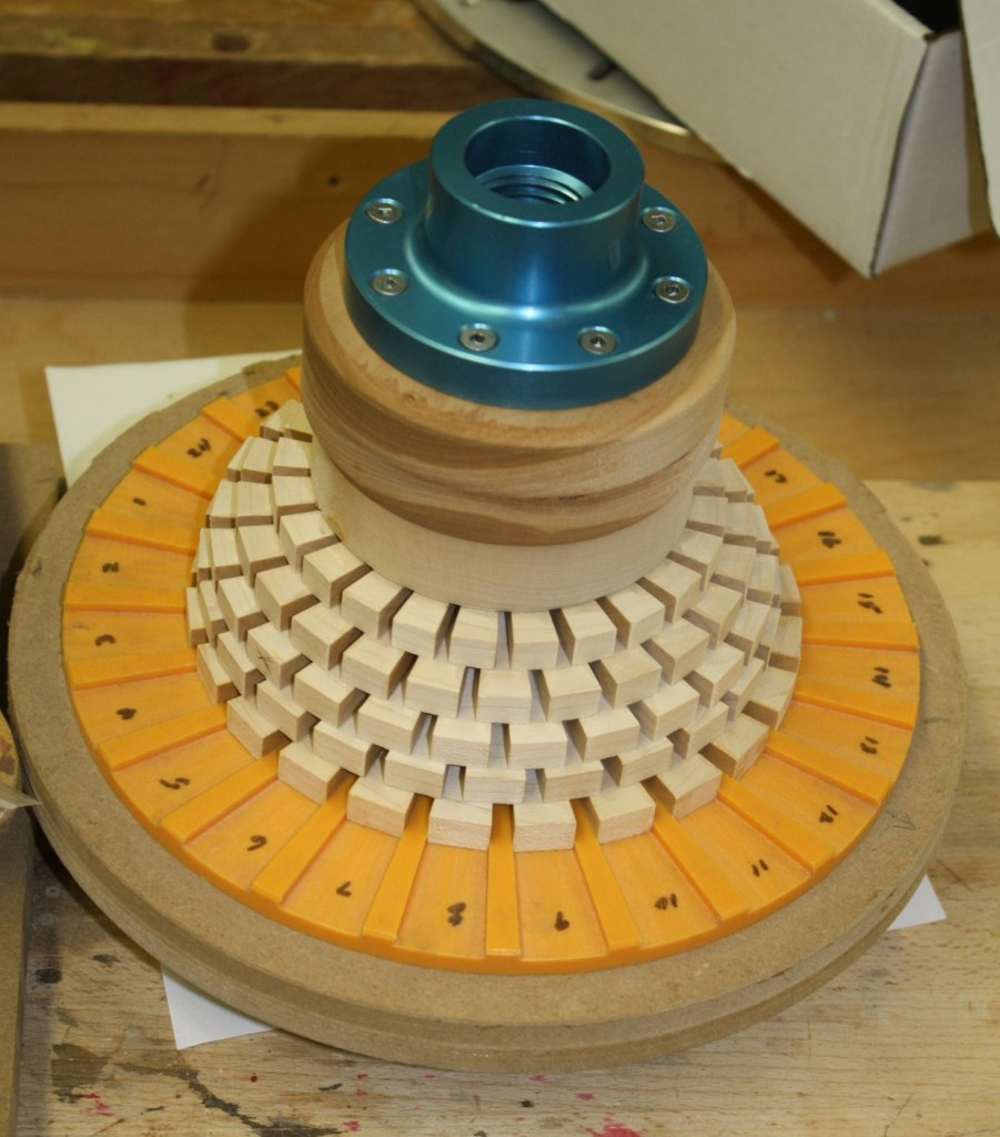 Construction of a Segmented Bowl Blank - Dennis Edwards